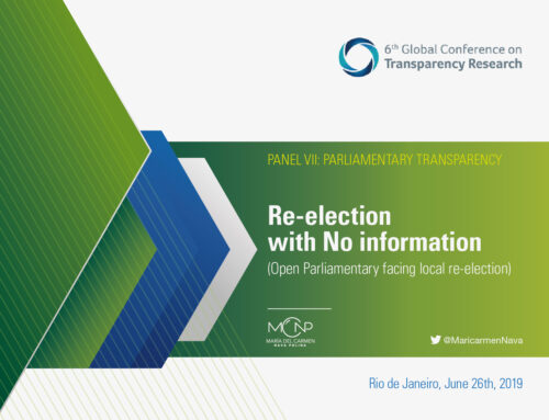 Re-election with No Information (Open Parliamentary Information Facing Re-election)